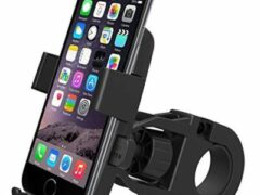 11. One Touch Lock Smartphone Holder
